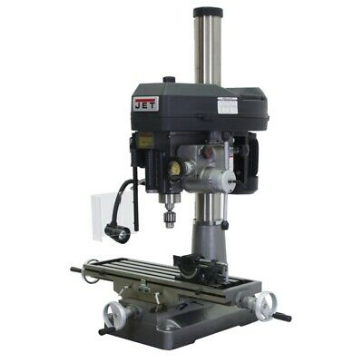 $6199 • Buy JET 350136 JMD-18PFN Mill/Drill With NewALL DP500 DRO And X-Axis Table Powerfeed