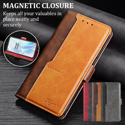 AU5.50 • Buy For OnePlus Nord N10 N100 8/7T/7 Pro 6T/5T Leather Flip Cards Slot Wallet Case