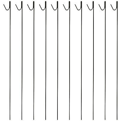 £26.99 • Buy Woodside Pack Of 10 8mm X 135cm Metal Barrier Safety Netting Fence Pins/Stakes