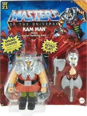 $37.53 • Buy Masters Of The Universe Origins Deluxe Ram Man Brand New