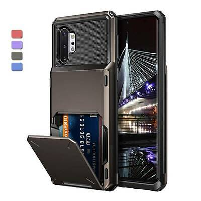 AU9.95 • Buy For IPhone 12 11 Pro Max/XS/XR/X Shockproof Case With Wallet Credit Card Holder