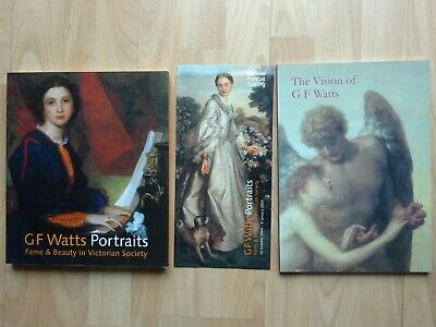 £19 • Buy The Vision Of G F Watts By Veronica Gould & Portraits By Barbara Bryant &leaflet