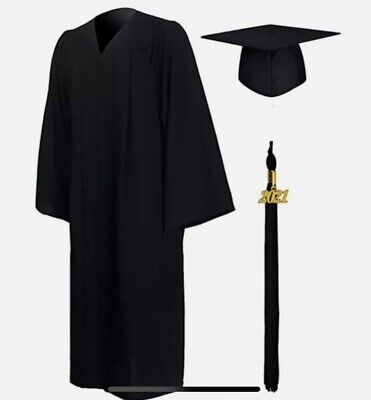 £8.52 • Buy University Graduation Gown And Mortarboard Hat Set Cap Robe BRAND NEW