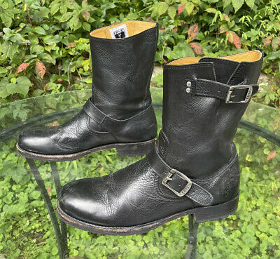 $125 • Buy Frye Mens Motorcycle Ankle Boots Size 9.5 D