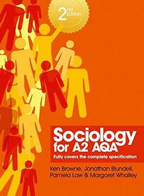 £4.11 • Buy Sociology For A2 AQA, Margaret Whalley, Pamela Law, Jonathan Blundell, Ken Brown