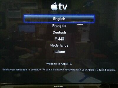 AU20.27 • Buy Apple TV (2nd Generation) Smart Media Streaming Player Model A1378 With Remote