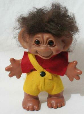 £18 • Buy Antique Vintage 1960s Thomas Dam Troll - 5 1/2  In Height - Boy In Yellow Shorts