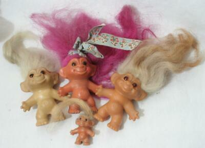 £3.20 • Buy Antique Vintage 1960s Thomas Dam Troll Small X 4 - 3  And 1 1/2  In Height