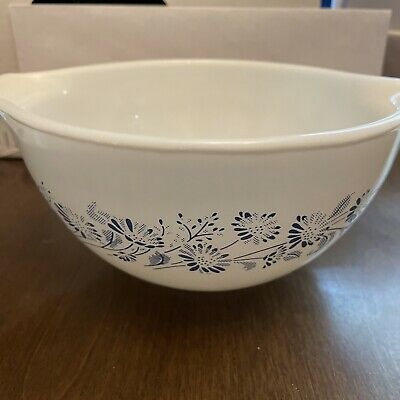 $20 • Buy Pyrex 441 Cinderella Mixing Bowl 750 Ml 3 Cups Colonial Mist Pattern