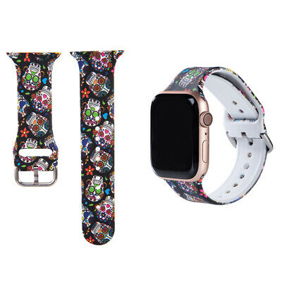 $ CDN6.44 • Buy Fashion Watch Band Color Strap Series 6 5 4 3 2 1 For Apple Iwatch Strap 38-44mm