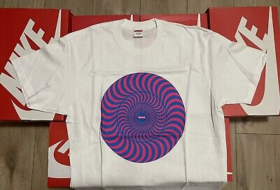 $ CDN36.51 • Buy Supreme Spitfire Wheels Tee White Size Large 100% Authentic