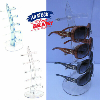 AU13.79 • Buy 5 Pair Sunglasses Rack Show Plastic Glasses Display Stand Holder Counter