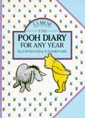 £1.99 • Buy Winnie-the-Pooh Any Year Diary By Shepard, E H,Milne, A A, Good Used Book (Diary