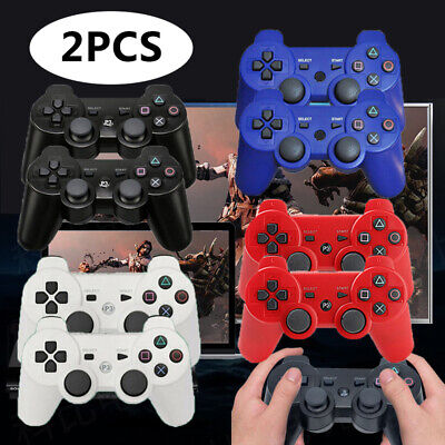 £21.99 • Buy 2Pcs Wireless Bluetooth Game Controllers Remote Pad For PS3 PlayStation Gamepad