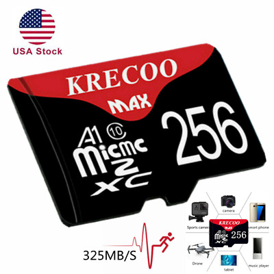 $9.28 • Buy Memory Card 64GB 128GB 256GB Micro SD Class10 Fast 4K Flash TF For Cell Phone US