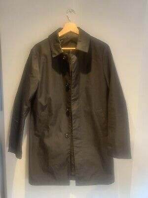 £35 • Buy Reiss Trench Coat - Black - Size Small - Excellent Condition
