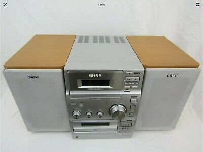 £25 • Buy Sony Stereo Hi Fi System With Speakers Cmt Cp100. Cd Cassette Radio