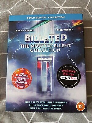 £35 • Buy Bill And Ted The Most Excellent Collection. HMV Exclusive, Bluray, Trilogy.