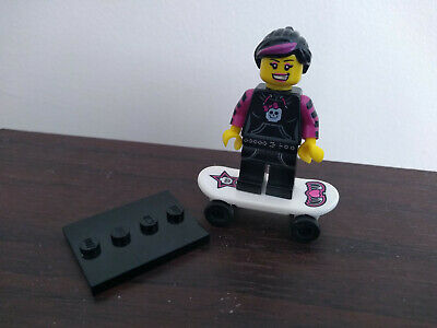 £1.50 • Buy LEGO Minifigure Series 6 Skater Girl Skateboard With Stand Col092