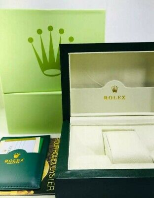 $ CDN100.31 • Buy Rolex Luxury Watch Box, Outer Case, Sleeve And Duster. Suisse. PERFECT