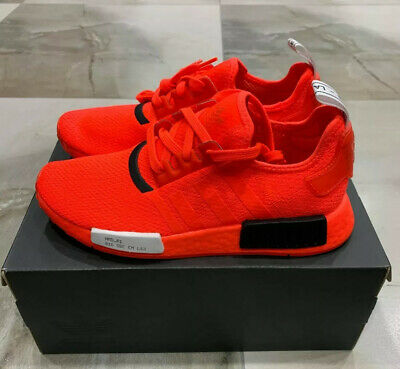 AU139.99 • Buy Adidas Men Size Us 8 Nmd R1 Solar Red Shoes Brand New