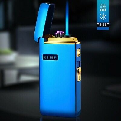 AU39.95 • Buy 2in1 Dual Arc Lighter Jet Flame Torch Cigar USB   Rechargeable & GasWindproof