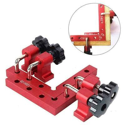 £17.74 • Buy 1 Set 90 Degree Positioning Squares Right Angle Clamp Woodworking Tool Good O6C3