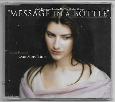 £17.12 • Buy LAURA PAUSINI  One More Time  Maxi-CD 1999 NEU/NEW/Sealed (Message In A Bottle)