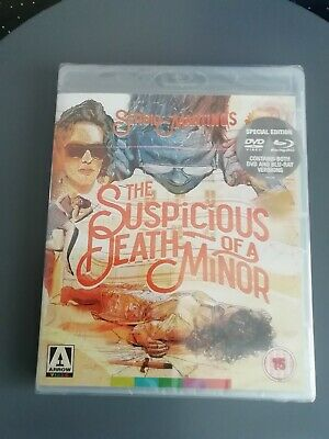 £8.99 • Buy The Suspicious Death Of A Minor (Blu-ray + Dvd 1975 Remastered 2017) Arrow Films
