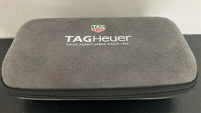 $ CDN15.23 • Buy 100% Authentic Suede Tag Heuer Watch Box / Travel Case With Foam Inserts