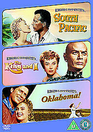 £3.50 • Buy South Pacific/Oklahoma/The King And I (DVD,  3-Disc Set, Box Set) NEW SEALED