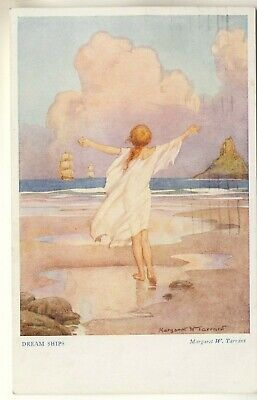 £1.75 • Buy Medici Society Art Post Card Of Out Of Doors, Dream Ships By Margaret W. Tarrant