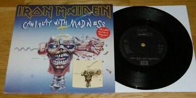 £18 • Buy Iron Maiden - Can I Play With Madness - Includes Transfer - 1988 - Excellent