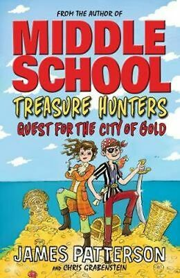 AU20.25 • Buy NEW Treasure Hunters: Quest For The City Of Gold By James Patterson Paperback
