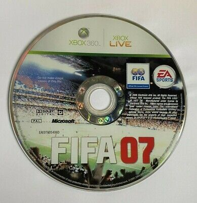 £1.45 • Buy FIFA 07 GAME DISC ONLY For XBOX 360 - TESTED & FAST POST
