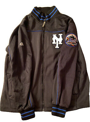 $23.99 • Buy MLB MAJESTIC AUTHENTIC NEW YORK METS PULLOVER JACKET Men's XL