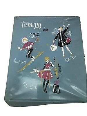 $ CDN50.34 • Buy Vintage Tammy & Barbie Clothing/Doll Lot With 1966 Twist Barbie And Tammy Case