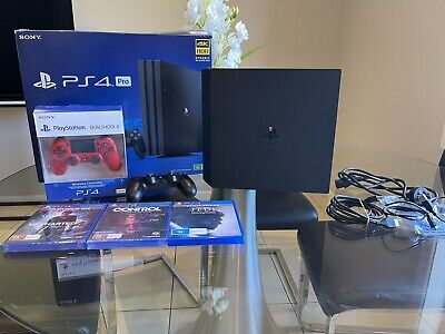 AU315 • Buy Sony Playstation 4 Pro 1TB Ps4 In Immaculate Condition 3x Games,Extra Controller
