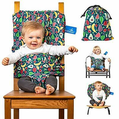 £38.73 • Buy The Totseat Portable Travel Highchair (Multi-Coloured Fruit Design) | Compact