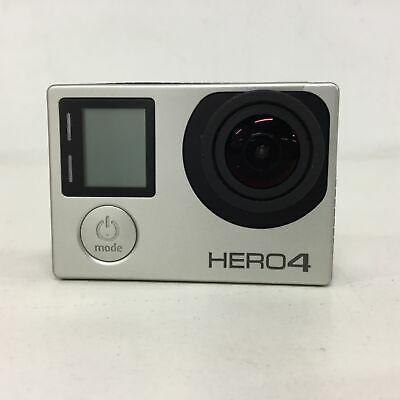 AU13.50 • Buy GoPro HERO4 Action Camera With Accessories (Black/Silver) #663