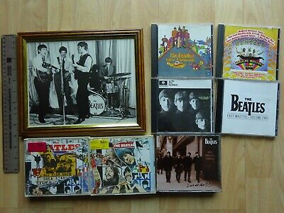 £59.10 • Buy 10 CDs The Beatles Anthology 2, 3, Live At The BBC & Framed Photograph 10  X 8