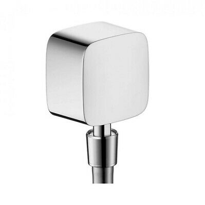 £24.90 • Buy Hansgrohe FixFit27414000 Wall Outlet With Non-Return Valve And Pivot Joint