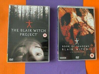 £4.25 • Buy *BUNDLE Double Bill The Blair Witch Project & Book Of Shadows Blair Witch  2 DVD