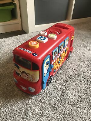 £8 • Buy Vtech Playtime Bus Phonics Classic Toy Early Learning Counting ABC Alphabet