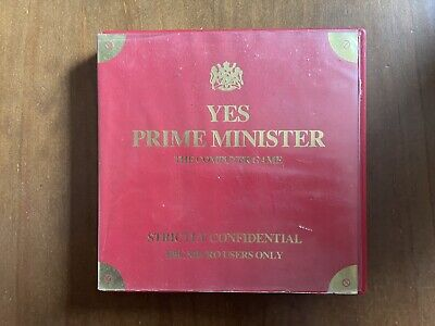 £6 • Buy BBC Micro ~ Yes Prime Minister By Mosaic ~ Large Clam Shell Case