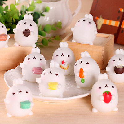 AU2.09 • Buy Mochi Soft Rabbit Squishy Healing Squeeze Kid Toy Gift Stress Reliever Decor.