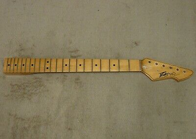 $ CDN415.36 • Buy Vintage 1979 Peavey T-60 Guitar Neck - Natural - Made In USA
