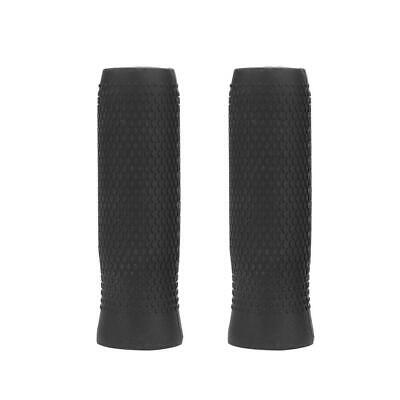 AU12.86 • Buy 2pcs Electric Scooter Grip Non-slip Silicone Cover For Ninebot ES1 Black