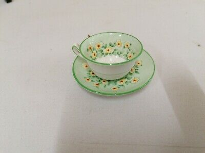 £2.99 • Buy Crown Staffordshire Miniature Cup And Saucer