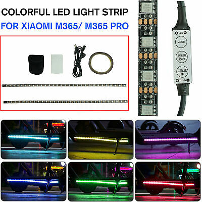 AU13.89 • Buy Colorful LED Light Strip Bar Lamp For Xiaomi M365 / M365 Pro Electric Scooter
